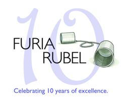 Furia Rubel 10th Anniversary